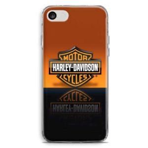 Cover per smartphone in stile centauro con loro moto Harley Davidson