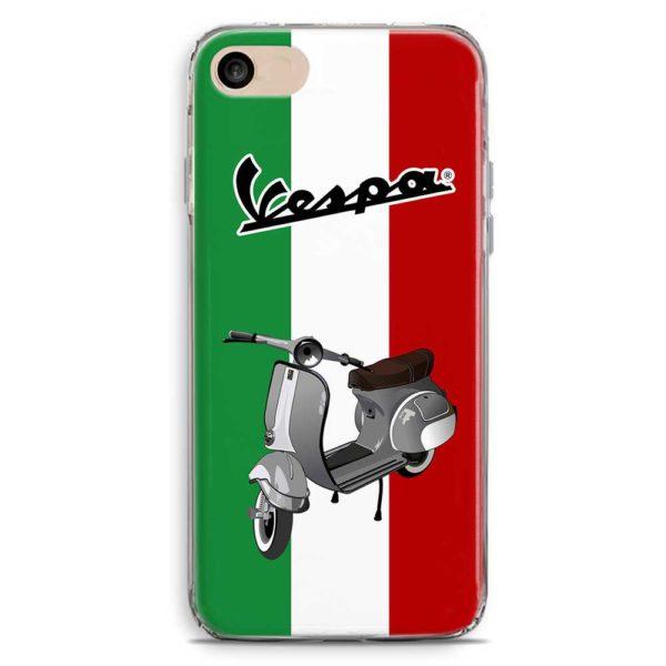 Cover smartphone Vespa Piaggio bandiera Italia