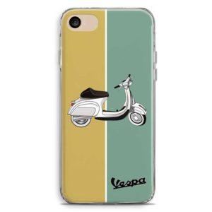 Cover smartphone Vespa Piaggio Vintage Giallo Verde