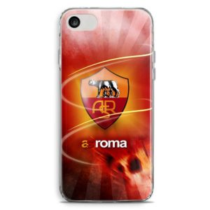 Cover smartphone con logo squadra calcio As Roma