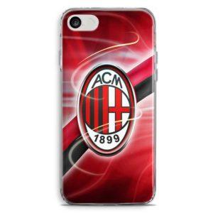 Cover per smartphone con logo squadra di calcio Ac Milan