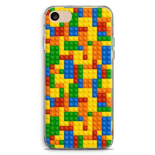 Cover smartphone stile Lego Tetris