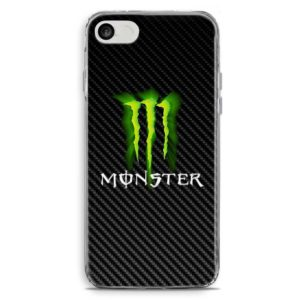 Cover per smartphone con logo bibita energy drink Monster