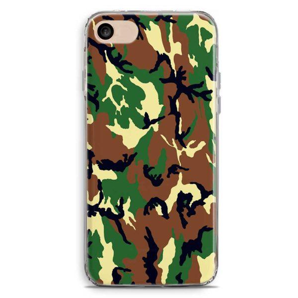 Cover smartphone stile mimetica classica militare