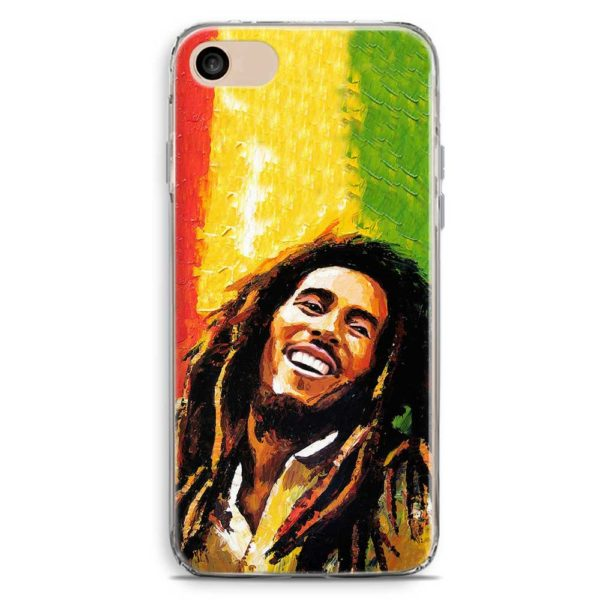 Cover smartphone stile Bob Marley bandiera Giamaica