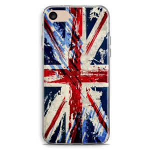 Cover smartphone stile graffiti bandiera inglese