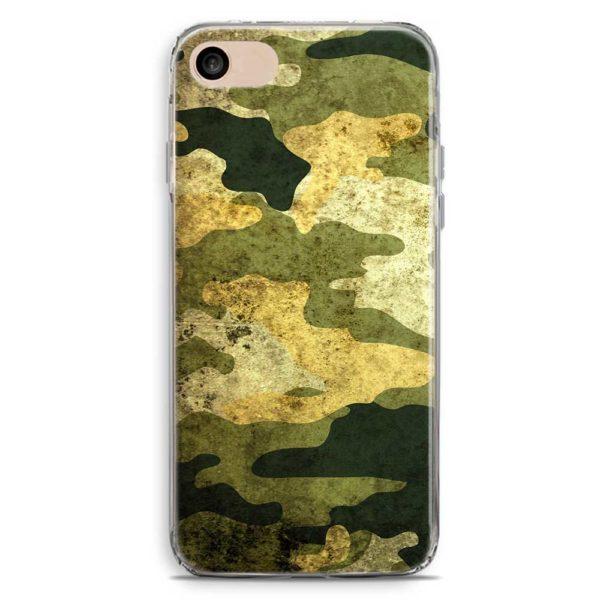 Cover smartphone stile mimetica militare vintage