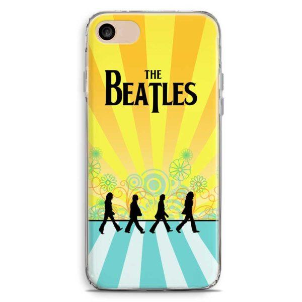 Cover smartphone The Beatles stile vintage