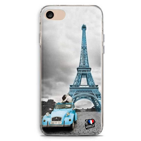 Cover smartphone di Parigi con torre Eiffel