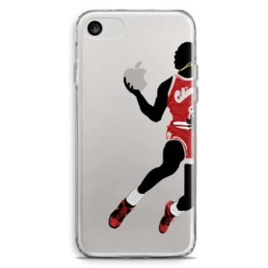 Cover per smartphone in stile Michael Jordan Chicago Bulls