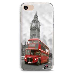 Cover smartphone di Londra con bus rosso