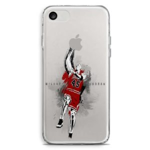 Cover per smartphone stile Michael Jordan Chicago Bulls