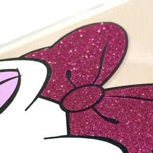 Dettaglio glitter cover Paperina