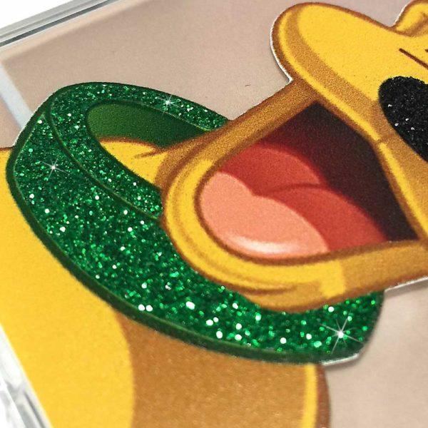Dettaglio glitter Pluto B