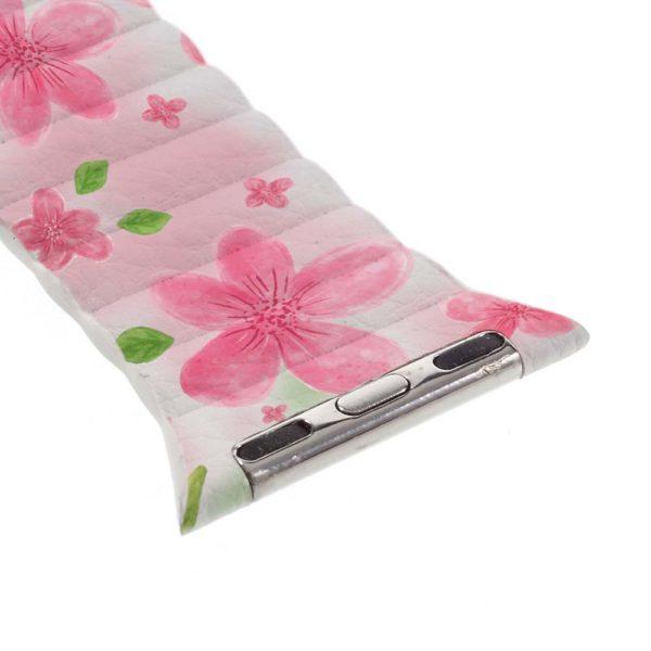 Dettaglio cinturino Pink Flowers
