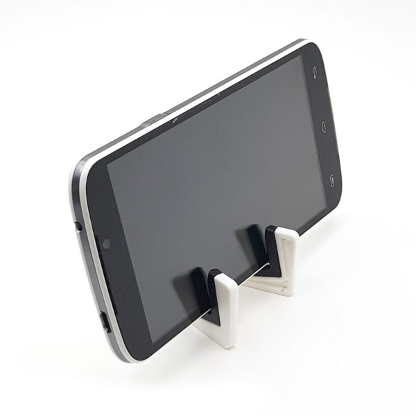 Visuale frontale stand smartphone