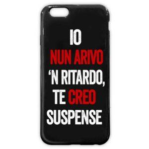 Cover morbida per smartphone nera