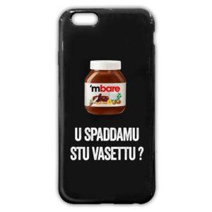 Cover morbida per smartphone con frase