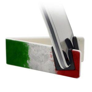 Stand per smartphone con bandiera italiana