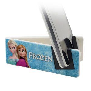 Stand per smartphone con Elsa e Anna di Frozen