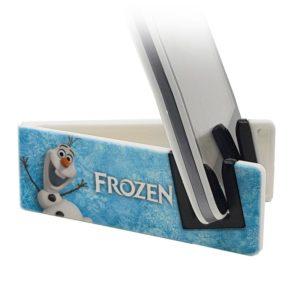 Stand per smartphone con Olaf di Frozen