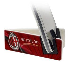 Stand per smartphone con logo squadra di calcio Ac Milan