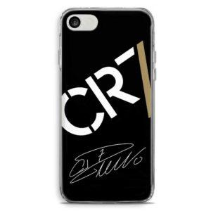 Cover morbida per smartphone con logo Cristiano Ronaldo Juventus